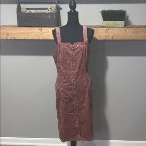Anthropologe Velvet Dress